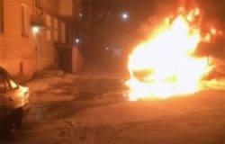 На Кронштадтской сожгли Toyota RAV-4