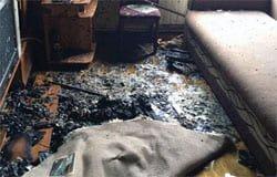 На Юбилейной сгорела квартира. Погиб мужчина