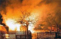 При пожаре на улице Буденного погибла женщина