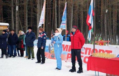 В Вязьме прошла Лыжня России