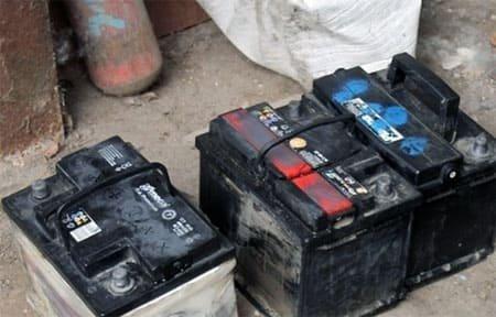 Полиция раскрыла хищение 3-х аккумуляторов