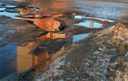Вязьмичи написали заявление в Прокуратуру о состоянии дорог