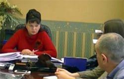 Инна Демидова отвечает на вопросы вяземских журналистов