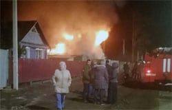 При пожаре на Ямской пострадал мужчина