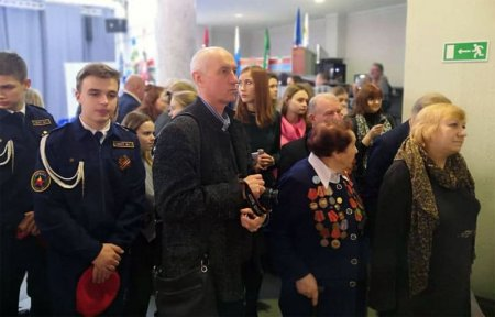 В КВЦ им.Тенишевых открылась выставка «Города воинской славы России»
