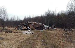 Кто свозит мусор на Русятку?