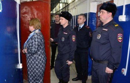 Общественность проверила изолятор временного содержания МО МВД РФ «Вяземский»