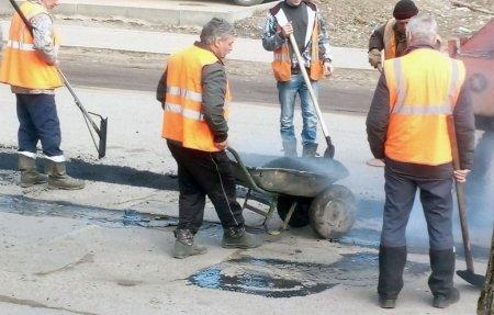 На Красноармейском шоссе начался ямочный ремонт