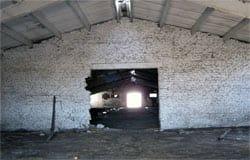 В Ново-Никольском в бывшем картофелехранилище строят пожарное депо