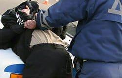 Житель Вязьмы обвиняется в насилии по отношении к полицейскому