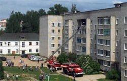 На ул. Плотникова горела квартира, пострадавших нет