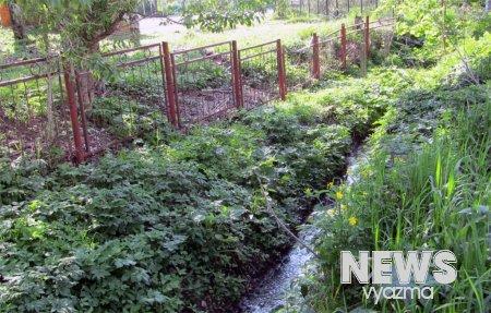 Угроза для детей: рядом со школой ручей с фекалиями