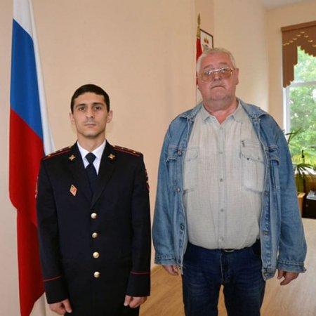 Капитан полиции Норайр Аветисян поборол преступность на своем участке