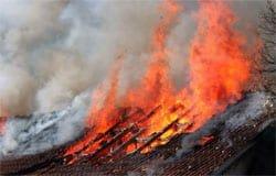 3 июня в Вязьме произошло два пожара