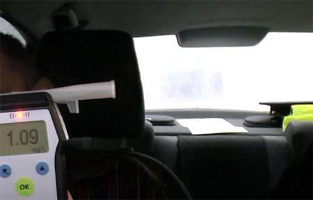 25-летний водитель из Вязьмы попался пьяным за рулем во второй раз