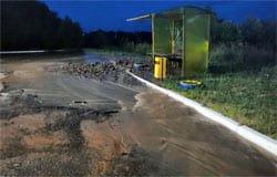 В Вязьме снова произошла аварийная ситуация на водоводе