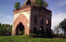 Церковь святителя Николая Чудотворца в с. Фомищево Вяземского района