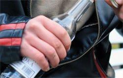 В Вязьме полиция задержала пьяного воришку