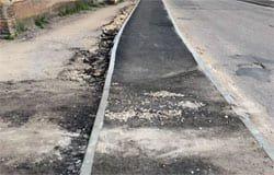 Вяземское тротуаростроение: ул. Л. Шмидта