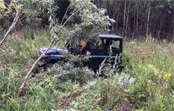 В Вяземском районе лось спровоцировал аварию «УАЗа»