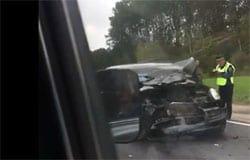 На М-1 под Вязьмой в страшном ДТП погиб человек