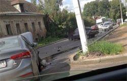 В ДТП на Кронштадтской пострадали несколько машин