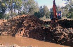 10 сентября из-за крупной аварии на водоводе Вязьма снова осталась без воды