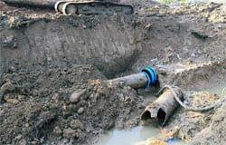 Авария на водоводе: кто виноват и что делать?