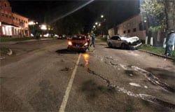 На улице Репина произошло ДТП, есть пострадавшие