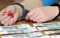Торговый представитель в Вязьме присвоила 160 тыс. руб