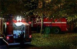 На Вязьма-Брянской сгорел дом. Имеются пострадавшие
