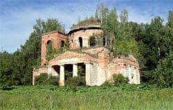 Село Величево Вяземского района: Церковь Живоначальной Троицы