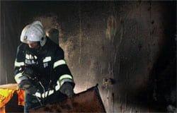 На ул. Ленина горела квартира в пятиэтажке