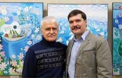 В Смоленске открылась выставка художника Владимира Чайки «Море»