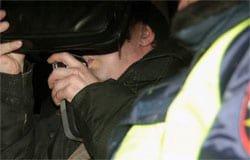 На Заслонова полиция задержала алкоголика на автомобиле «Ниссан Альмера»