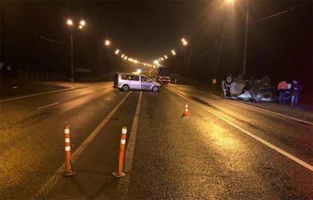 На 197-м километре трассы М-1 «Москва - Минск» произошло ДТП