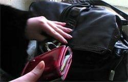 В Вязьме, благодаря камерам видеонаблюдения была раскрыта кража кошелька