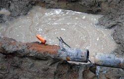 Не получилось... ООО «Вода Смоленска» оставила без воды весь город