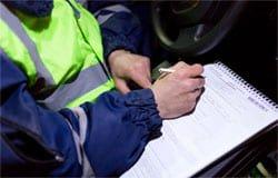 На Московской задержали очередного пьяного водителя
