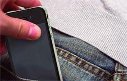 В Вязьме задержали воришку сотовых телефонов