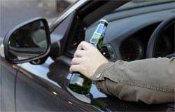 На Московской снова задержали пьяного водителя