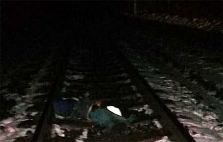 На железнодорожной станции Вязьма погиб мужчина