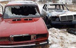 На Вязьма-Брянской горели машины