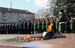 Вязьма отметила День освобождения от немецко-фашистских захватчиков