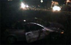 В ДТП на Ямской Ford Focus вылетел в кювет. Есть пострадавшие