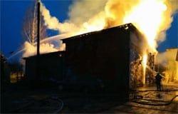 24 марта в Вязьме произошло 2 пожара, есть пострадавшие