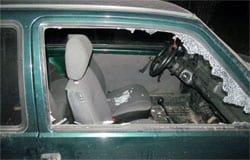 В Вяземском районе местные пьянчуги пытались угнать автомобиль