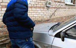 В Кайдаково пытались угнать автомобиль