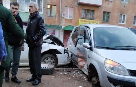 На улице Ленина произошло тройное ДТП, есть пострадавшие