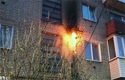 На улице 25 Октября загорелся электрический кабель